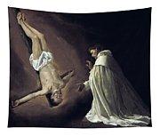 Apparition Of Apostle Saint Peter To Saint Peter Nolasco Tapestry