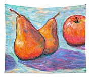 Apple And Pear Twirl Tapestry