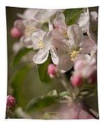Apple Flowers Tapestry