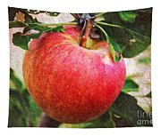 Apple On The Tree Tapestry