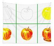 Apple Study Tapestry