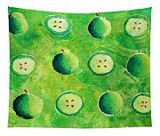 Apples In Halves Tapestry
