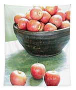 Apples On The Table  Tapestry