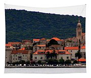 Approaching Korcula Tapestry