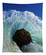 Aqua Dome Tapestry by Sean Davey