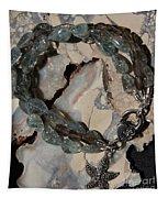 Aquamarine And Smoky Quartz Starfish Bracelet Tapestry