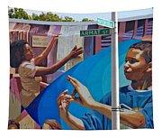 Aramat St Mural Tapestry