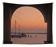 Arch View Tapestry