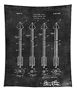 Archery Hunting Arrows Patent Tapestry