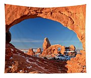 Arches Sandstone Frame Tapestry