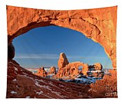 Arches Window Frame Tapestry