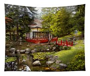 Architecture - Japan - Tranquil Moments  Tapestry