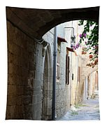 Archway Rhodos City Tapestry