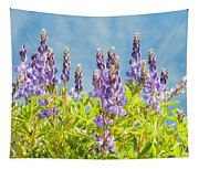 Arctic Lupine Tapestry