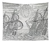 Arctic Phenomena From Gerrit De Veer S Description Of His Voyages Amsterdam 1600 Tapestry