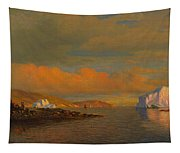 Arctic Sunset Tapestry
