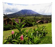 Arenal Costa Rica Tapestry