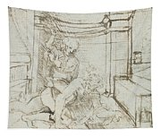 Aristotle And Phyllis Tapestry