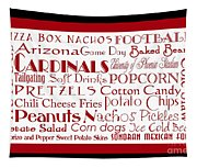 Arizona Cardinals Game Day Food 2 Tapestry