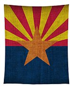 Arizona State Flag Tapestry by Pixel Chimp