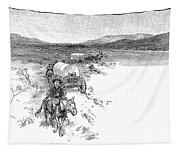 Arizona Tombstone, 1883 Tapestry
