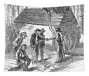 Arkansas Hot Springs, 1878 Tapestry