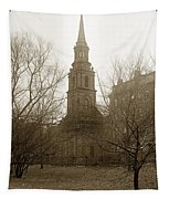 Arlington Street Church Unitarian Universalist Boston Massachusetts Circa 1900 Tapestry
