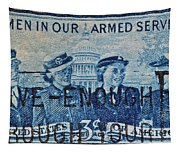 Armed Services Women Stamp Tapestry