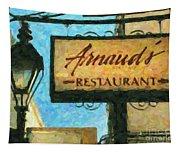 Arnauds New Orleans_oil Digital Art Tapestry