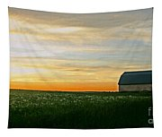 Aroostook Sunset Tapestry
