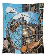 Around The World In Nyc Tapestry