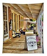Arrow Rock - Boardwalk Shops Tapestry