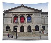 Art Institute West Facade Tapestry