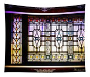 Art-nouveau Stained Glass Window Tapestry