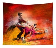 Artistic Roller Skating 02 Tapestry