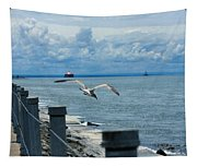 As The Seagull Flies Tapestry