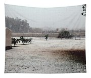 As The Snow Falls Tapestry