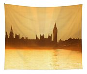 As The Sun Sets Tapestry