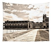 Asbury Park Boardwalk And Convention Center Tapestry