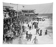 Asbury Park - New Jersey - 1908 Tapestry