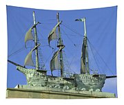 Asbury Park Nj Convention Hall Ship  Tapestry