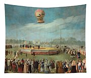 Ascent Of A Balloon In The Presence Of The Court Of Charles Iv Tapestry