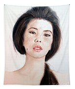 Asian Beauty Tapestry