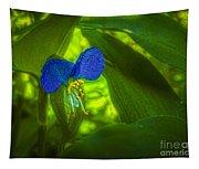 Asiatic Dayflower Tapestry