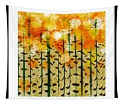 Aspen Colorado Abstract Square 4 Tapestry
