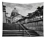 Aspirations In Black And White Tapestry