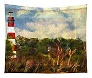 Assateague Lighthouse Tapestry