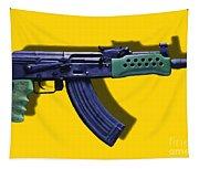 Assault Rifle Pop Art - 20130120 - V2 Tapestry