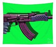 Assault Rifle Pop Art - 20130120 - V3 Tapestry