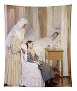 At Notre-dame Du Perpetuel Bon Secours Hospital Tapestry